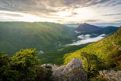 Great Linville Gorge Art Print by Serge Skiba