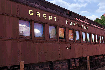 Photograph - Great Northern by David Armstrong