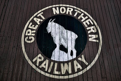 Great Northern Railway Art Print by Daniel Hagerman