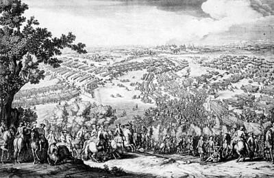 Great Northern War, Battle Of Poltava Art Print