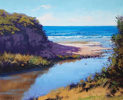 Victoria Painting - Great Ocean Rd  Vic by Graham Gercken