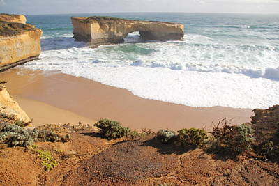 Photograph - Great Ocean Road Four by A K Dayton