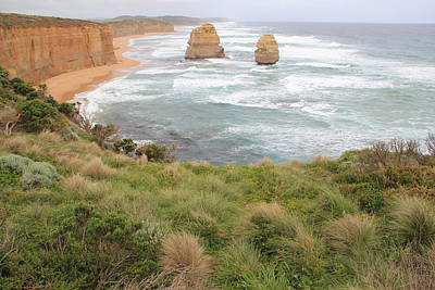 Photograph - Great Ocean Road Two by A K Dayton