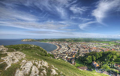 Photograph - Great Orme View by Darren Wilkes