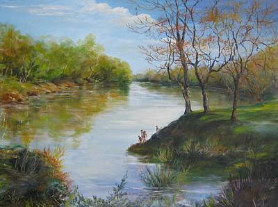 Painting - Sold  Pee Dee River 2014 by Gloria Turner