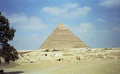 Photograph - Great Pyramid by Robert  Moss
