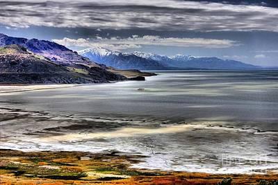 Great Salt Lake From Antelope Island Art Print