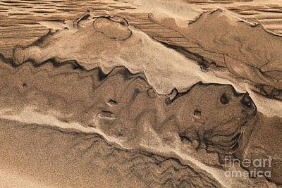 Photograph - Great Sand Drawing by Adam Jewell