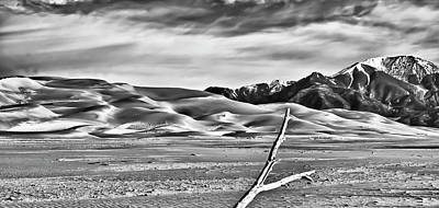 Southern Colorado Photograph - Great Sand Dunes 1 by Ron White