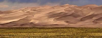 Great Sand Dunes In Colorado Art Print