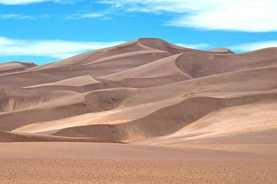 Photograph - Great Sand Dunes by Marilyn Burton
