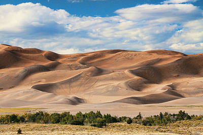 Photograph - The Great Sand Dunes National Park by Allen Beatty