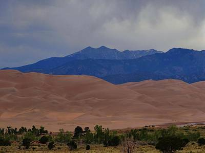 Luis Photograph - Great Sand Dunes National Park In Colorado by Dan Sproul