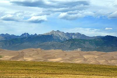 Photograph - Great Sand Dunes Vista by Marilyn Burton