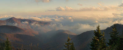 Photograph - Great Smoky Mountains Panorama by Gregory Scott