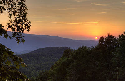 Photograph - Great Smoky Sunset by Coby Cooper