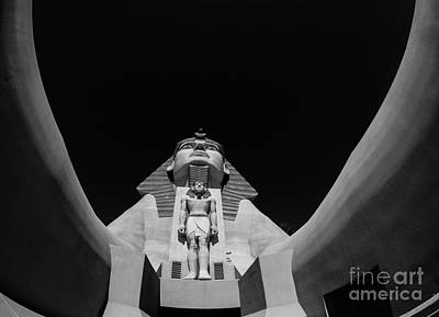 Great Sphinx Luxor Las Vegas Art Print by Edward Fielding