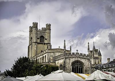 Great St  Marys The University Church Cambridge Art Print by Frank Bach