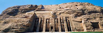 Abu Simbel Photograph - Great Temple Of Abu Simbel Egypt by Panoramic Images