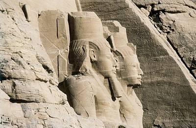 Great Temple Of Rameses II. Egypt Art Print by Everett