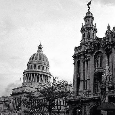 Architectureporn Photograph - Great Theater Of Havana (1838 - 1914) & by Joel Lopez