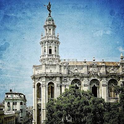 Iger Photograph - great Theatre Of Havana (1838 - by Joel Lopez