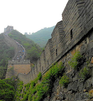 Great Wall 1 Art Print by Kay Gilley