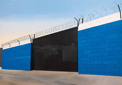 City Life Painting - Great Wall by Jennifer Walker