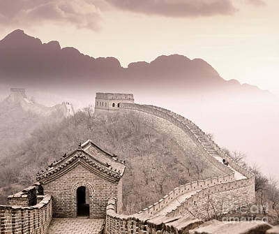 Great Wall Of China Art Print