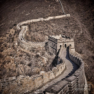 Photograph - Great Wall Of China Mutianyu by Colin and Linda McKie