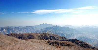 Photograph - Great Wall Of China - Mutianyu by Yew Kwang