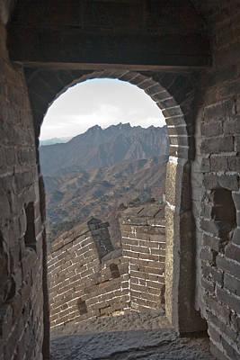 Qin Shi Huang Photograph - Great Wall View by Matthew Bamberg