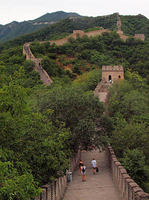 Photograph - Great Wall Walk by Robert Watson
