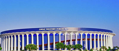 Great Western Forum, Home Of The La Art Print