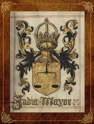 Digital Art - Greater India - Somalia Medieval Coat Of Arms  by Serge Averbukh