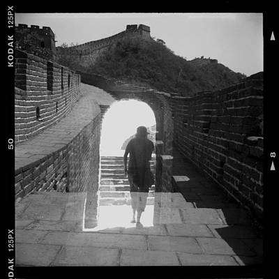 Becky Photograph - Greatwall-double Exposure by Becky Kozlen