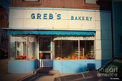 Diners Digital Art - Greb's Bakery Pittsburgh by Jim Zahniser