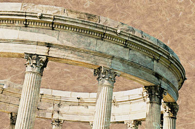Photograph - Grecian Corinthian Temple by Diana Angstadt