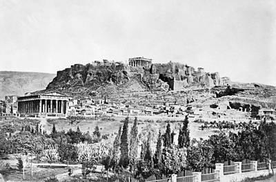 Greece Acropolis Art Print by Granger
