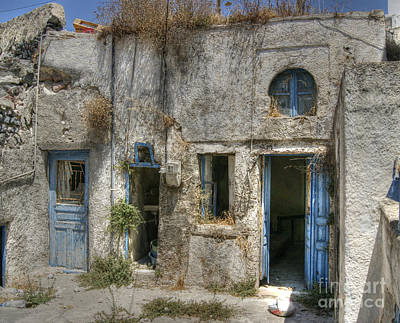 Photograph - Greece Before The Tourists by David Birchall