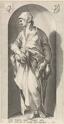 Deadly Drawing - Greed Avaritia, Jacob Matham, Franco Estius by Jacob Matham And Franco Estius