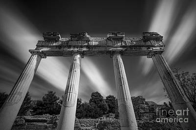 Greek Ancient Architecture Original by George Papapostolou
