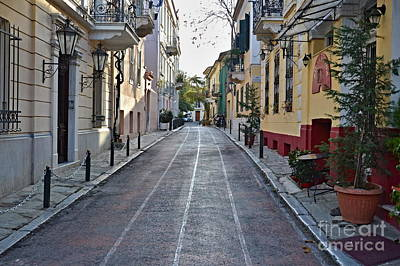 Photograph - Greek Bike Lanes by Steven Liveoak