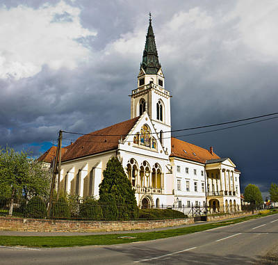 Photograph - Greek Catholic Cathedral In Krizevci by Brch Photography