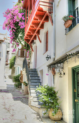 Skopelos Photograph - Greek Charm 2 by David Birchall