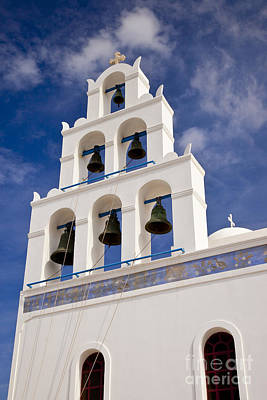 Photograph - Greek Church Bells by Brian Jannsen