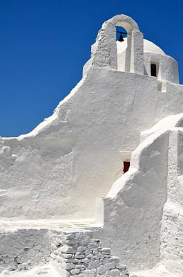 Photograph - Greek Church by Corinne Rhode
