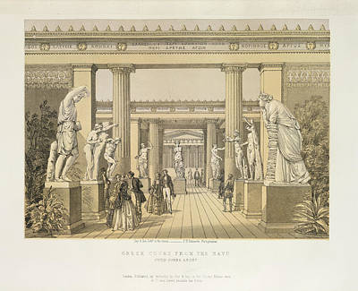 Hyde Park Photograph - Greek Court by British Library