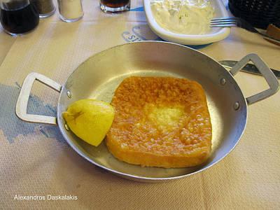 Greek Food Photograph - Greek Food by Alexandros Daskalakis
