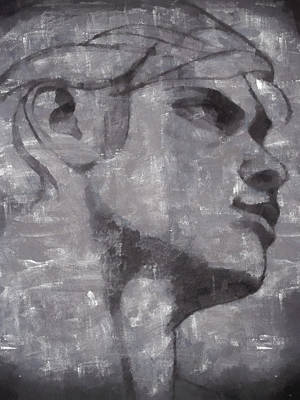 Tempera Mixed Media - Greek God by Paul Clement